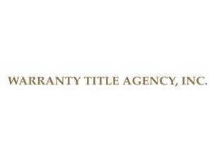 Warranty Title Agency